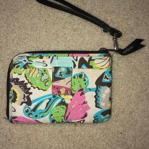 Thirty one butterfly colorful wallet/wristlet